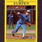 1991 Fleer Baseball #247 Bill Sampen - Montreal Expos