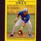 1991 Fleer Baseball #243 Spike Owen - Montreal Expos