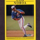 1991 Fleer Baseball #242 Junior Noboa - Montreal Expos