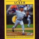 1991 Fleer Baseball #167 Jim Acker - Toronto Blue Jays