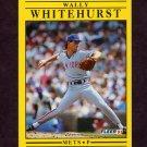 1991 Fleer Baseball #166 Wally Whitehurst - New York Mets