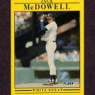 1991 Fleer Baseball #129 Jack McDowell - Chicago White Sox