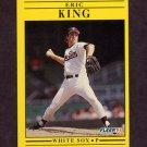 1991 Fleer Baseball #126 Eric King - Chicago White Sox