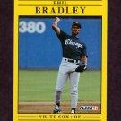 1991 Fleer Baseball #114 Phil Bradley - Chicago White Sox