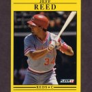 1991 Fleer Baseball #078 Jeff Reed - Cincinnati Reds