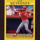 1991 Fleer Baseball #077 Luis Quinones - Cincinnati Reds
