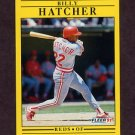1991 Fleer Baseball #066 Billy Hatcher - Cincinnati Reds