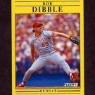 1991 Fleer Baseball #062 Rob Dibble - Cincinnati Reds