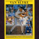 1991 Fleer Baseball #053 Andy Van Slyke - Pittsburgh Pirates