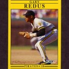 1991 Fleer Baseball #047 Gary Redus - Pittsburgh Pirates