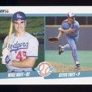 1990 Fleer Baseball #649 Mike Huff / Steve Frey