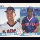 1990 Fleer Baseball #648 Rich Monteleone / Dana Williams
