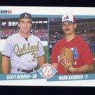1990 Fleer Baseball #646 Scott Hemond / Mark Gardner RC