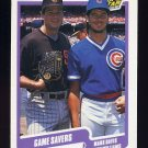 1990 Fleer Baseball #631 Mark Davis / Mitch Williams