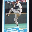 1990 Fleer Baseball #584 Tommy Greene RC - Atlanta Braves