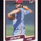 1990 Fleer Baseball #570 Jeff Parrett - Philadelphia Phillies