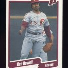 1990 Fleer Baseball #561 Ken Howell - Philadelphia Phillies