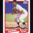 1990 Fleer Baseball #551 Greg Walker - Chicago White Sox