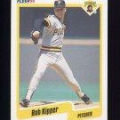 1990 Fleer Baseball #470 Bob Kipper - Pittsburgh Pirates