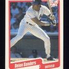 1990 Fleer Baseball #454 Deion Sanders - New York Yankees