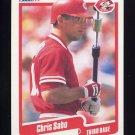1990 Fleer Baseball #433 Chris Sabo - Cincinnati Reds