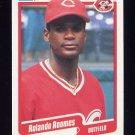 1990 Fleer Baseball #432 Rolando Roomes - Cincinnati Reds