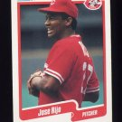 1990 Fleer Baseball #430 Jose Rijo - Cincinnati Reds