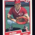 1990 Fleer Baseball #426 Joe Oliver - Cincinnati Reds