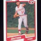 1990 Fleer Baseball #419 John Franco - Cincinnati Reds