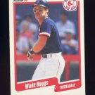 1990 Fleer Baseball #268 Wade Boggs - Boston Red Sox Ex