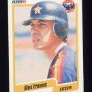 1990 Fleer Baseball #239 Alex Trevino - Houston Astros Ex