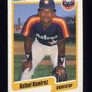 1990 Fleer Baseball #234 Rafael Ramirez - Houston Astros ExMt