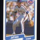 1990 Fleer Baseball #206 Jeff Innis RC - New York Mets