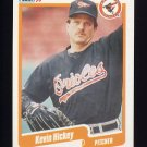1990 Fleer Baseball #178 Kevin Hickey - Baltimore Orioles