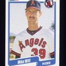 1990 Fleer Baseball #148 Mike Witt - California Angels