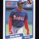 1990 Fleer Baseball #147 Devon White - California Angels