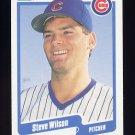 1990 Fleer Baseball #049 Steve Wilson - Chicago Cubs
