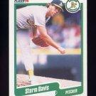 1990 Fleer Baseball #005 Storm Davis - Oakland A's