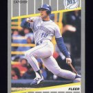 1989 Fleer Baseball #561 Dave Valle - Seattle Mariners