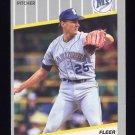 1989 Fleer Baseball #554 Mike Moore - Seattle Mariners
