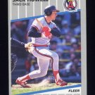 1989 Fleer Baseball #480 Jack Howell - California Angels