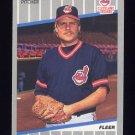 1989 Fleer Baseball #417 Rich Yett - Cleveland Indians