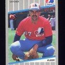 1989 Fleer Baseball #393 Nelson Santovenia - Montreal Expos