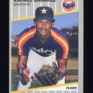 1989 Fleer Baseball #365 Rafael Ramirez - Houston Astros