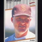 1989 Fleer Baseball #304 Mark Grant - San Diego Padres