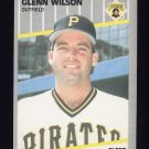 1989 Fleer Baseball #224 Glenn Wilson - Pittsburgh Pirates