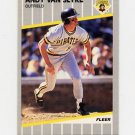 1989 Fleer Baseball #222 Andy Van Slyke - Pittsburgh Pirates