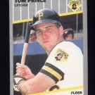 1989 Fleer Baseball #217 Tom Prince - Pittsburgh Pirates