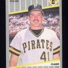 1989 Fleer Baseball #207 Mike Dunne - Pittsburgh Pirates