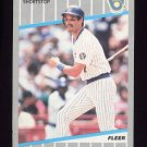 1989 Fleer Baseball #198 Dale Sveum - Milwaukee Brewers
